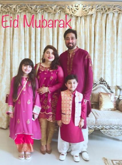 Javeria Saud Celebrating Eid With Family Health Fashion