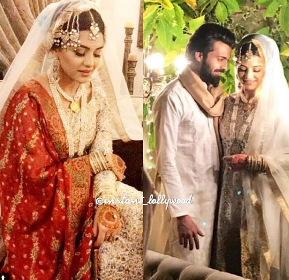 Zara Noor Abbas's Nikkah Held Today