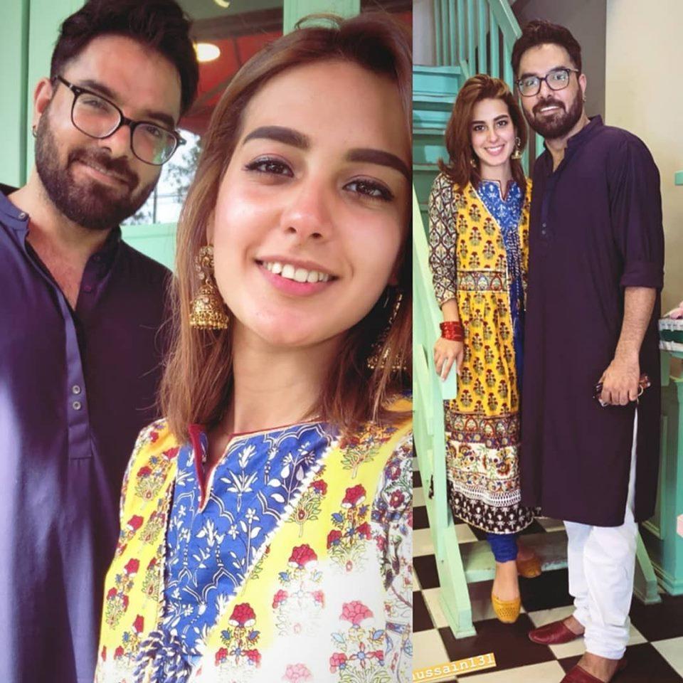 Check Out How Famous Showbiz Celebrity Couple Spend Eid