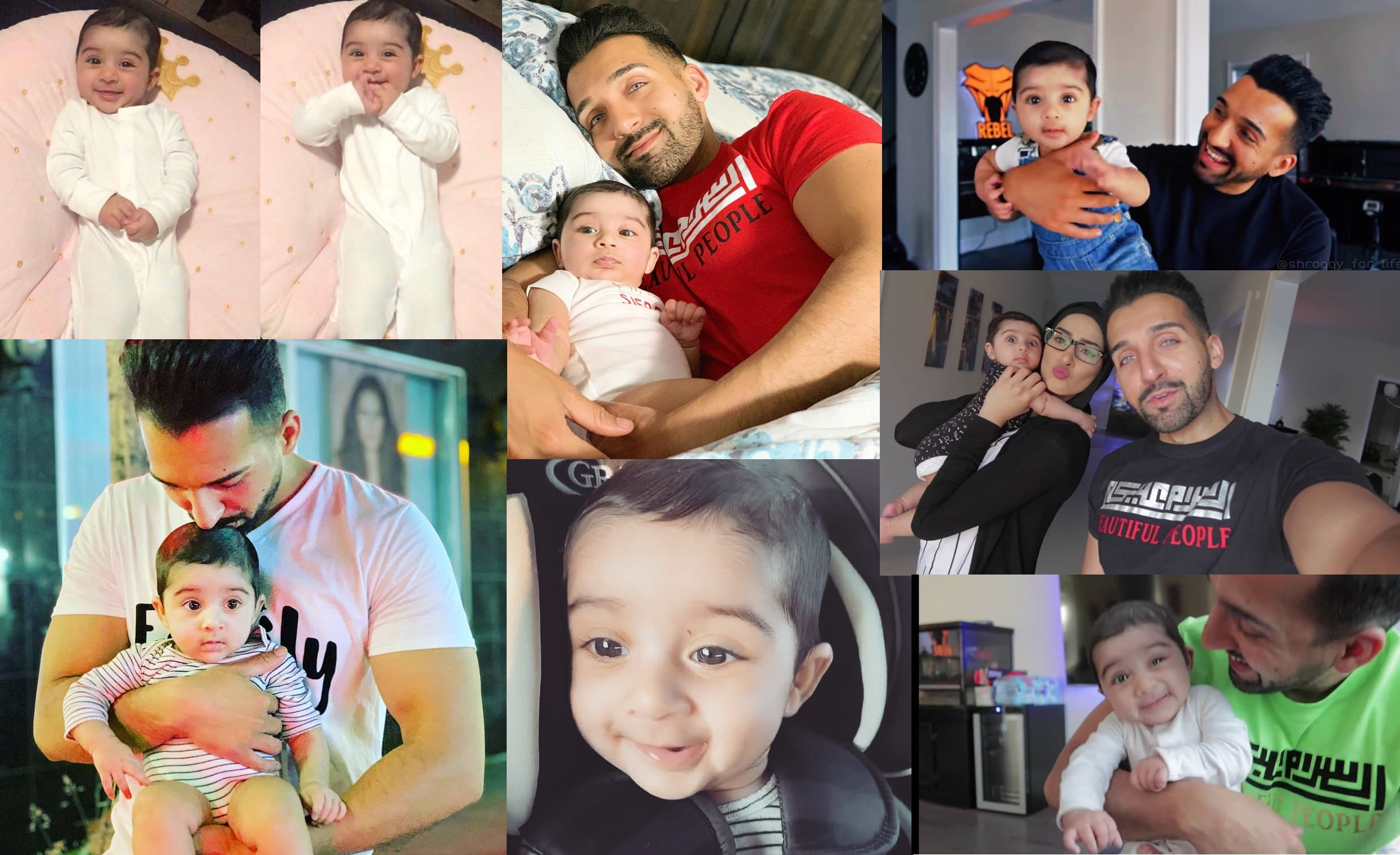 Latest Pictures Of Sham Idrees And Queen Froggy With Their Cute Daughter Seirra Health Fashion