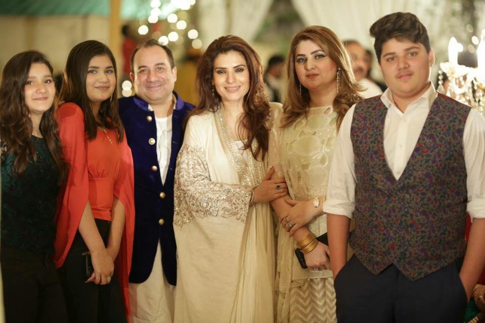 Meet Beautiful Family Of Rahat Fateh Ali Khan The Great Musician – Health Fashion