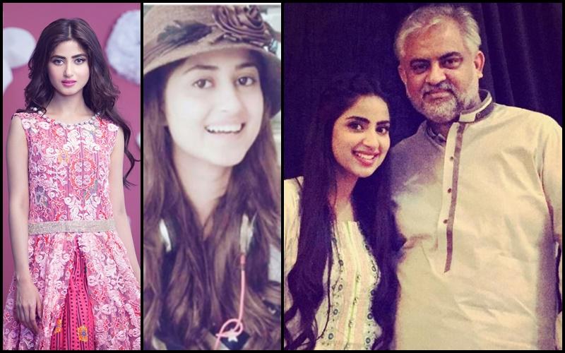 Sajal Ali father name is NA