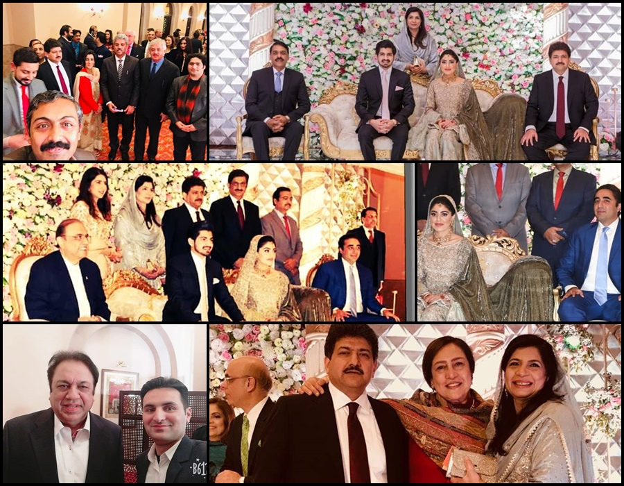 Reception Pictures Of Hamid Mir's Son Held In Islamabad – Health Fashion
