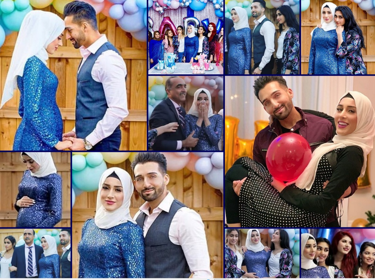 Sham Idrees And Queen Froggy S Baby Gender Reveal Celebration Pictures Health Fashion
