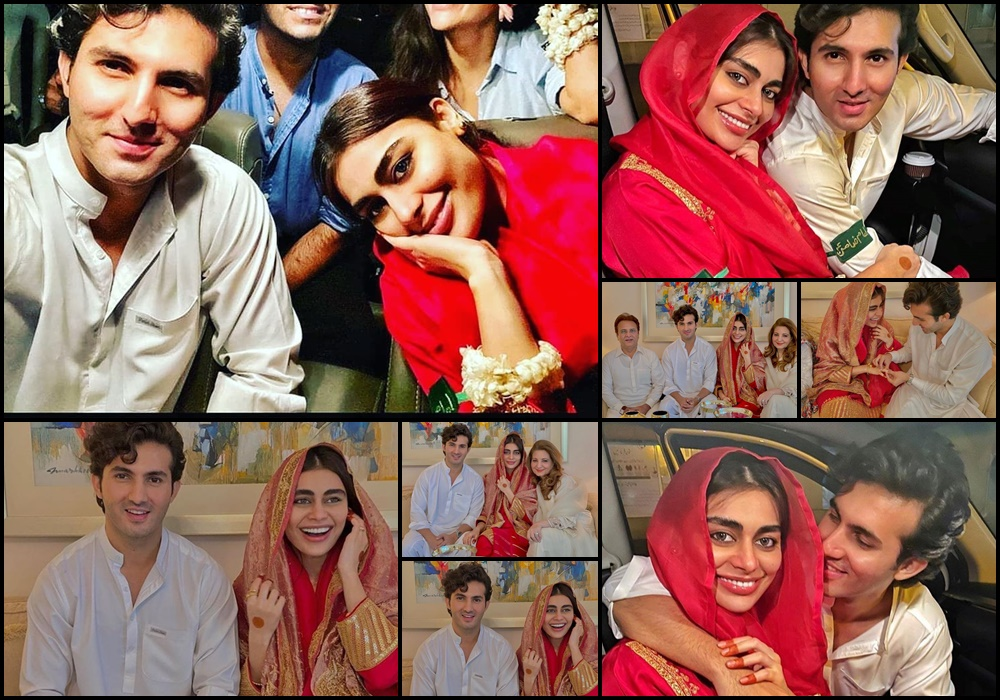 Shehroz Sabzwari And Sadaf Kanwal Nikkah Pictures – Health Fashion